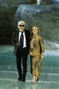 Karl Lagerfeld & Silvia Venturini Fendi