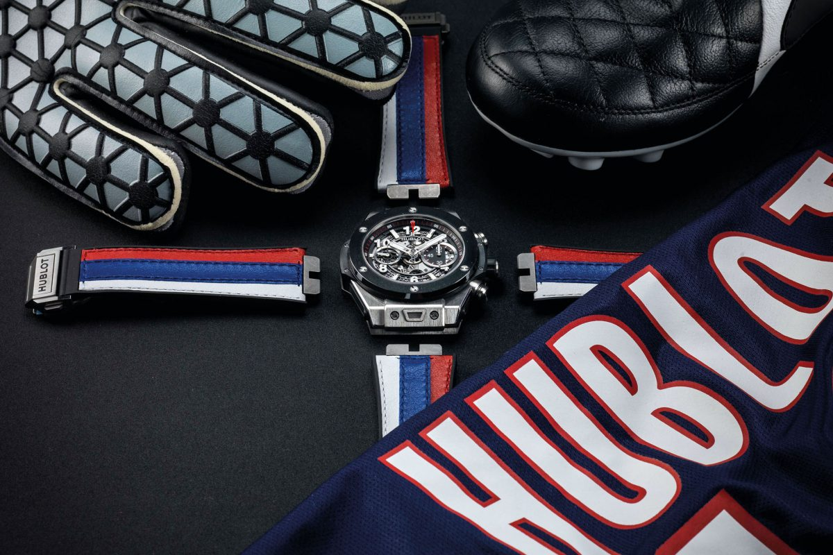 A look at Hublot's football alliance