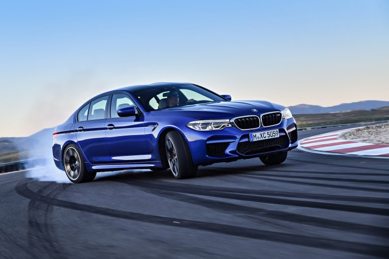 BMW M5 Packs A 600-HP Punch, Standard All-Wheel Drive