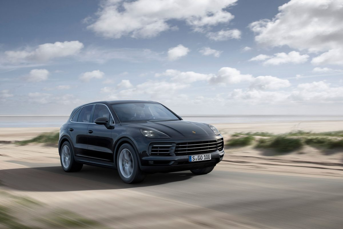 The new Porsche Cayenne has come