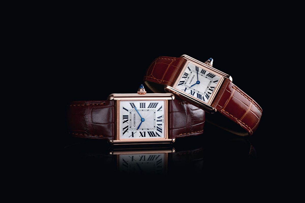 The Cartier Tank 100th Anniversary Collection
