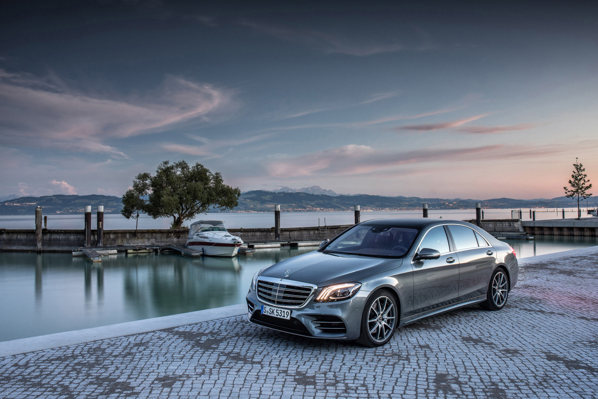The Mercedes S Class, Refreshed