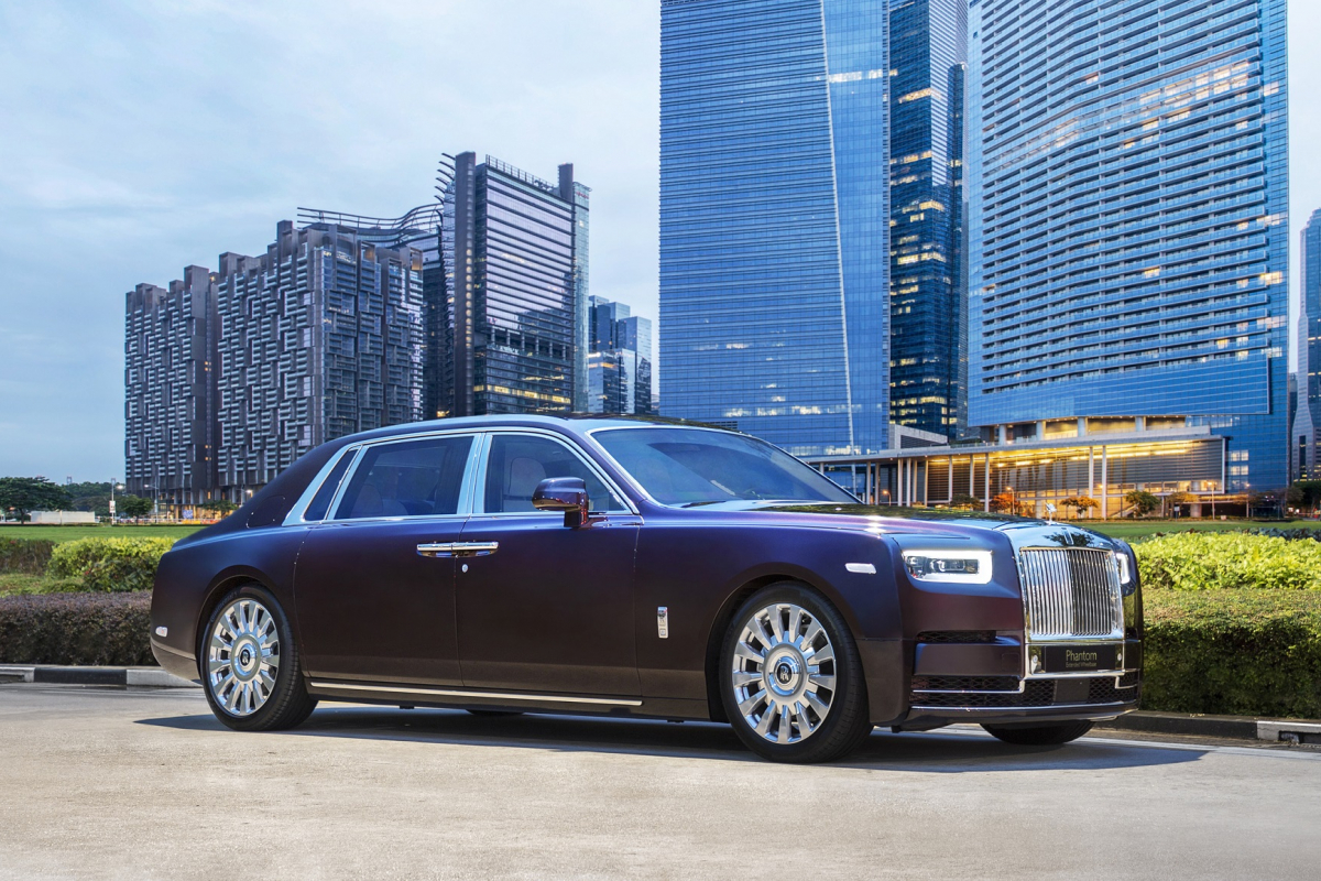 The Rolls-Royce Phantom arrives in SE Asia