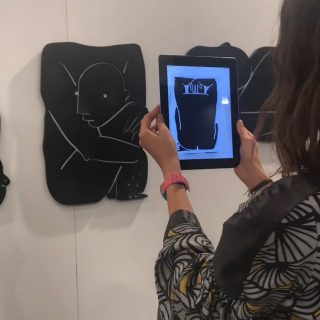 Meltem Şahin's pieces come to life when you use technology to interact with them