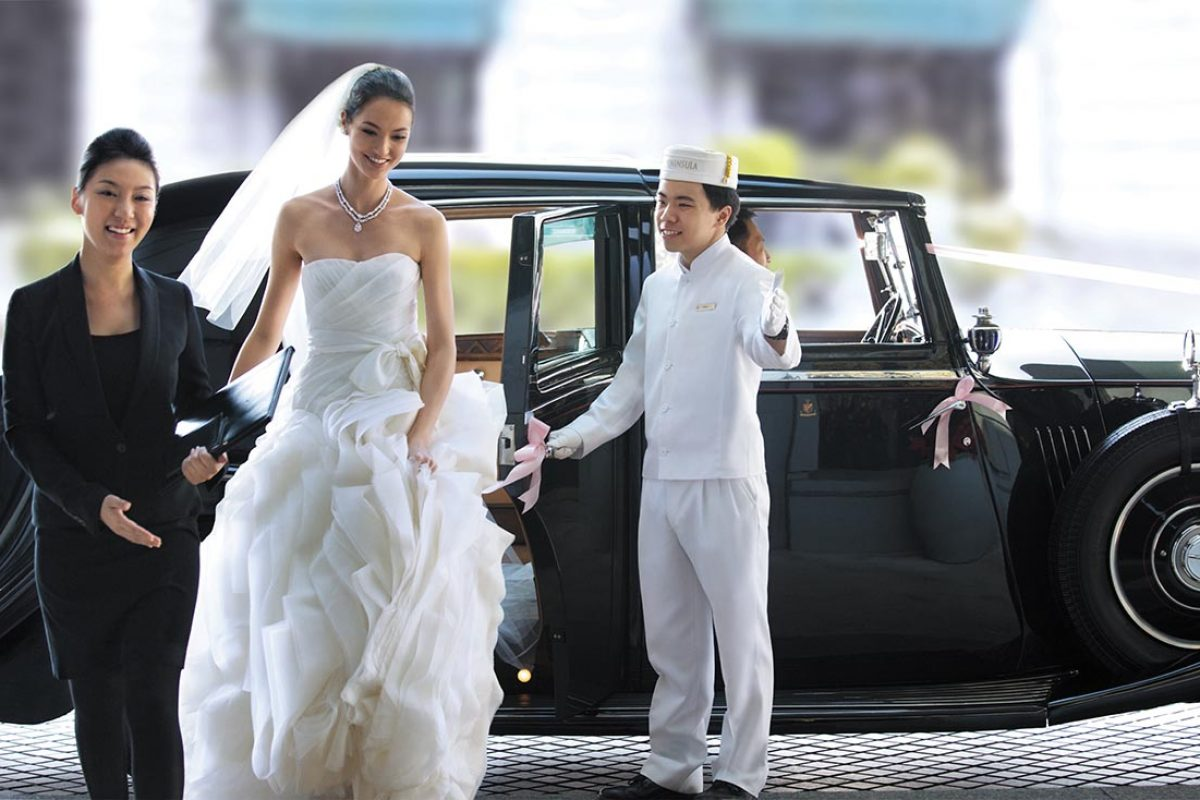Once in a Lifetime Weddings at The Peninsula Bangkok