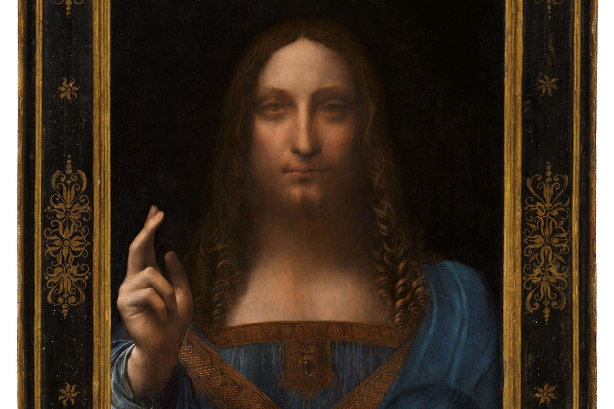 Da Vinci hits the auction for US$100 Million