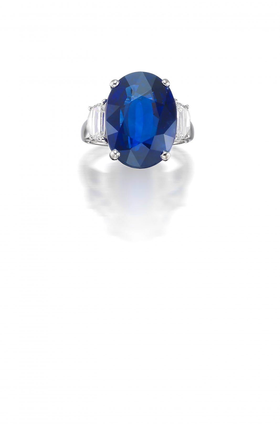 carat star high blue transparent sapphire burmese grade watch youtube