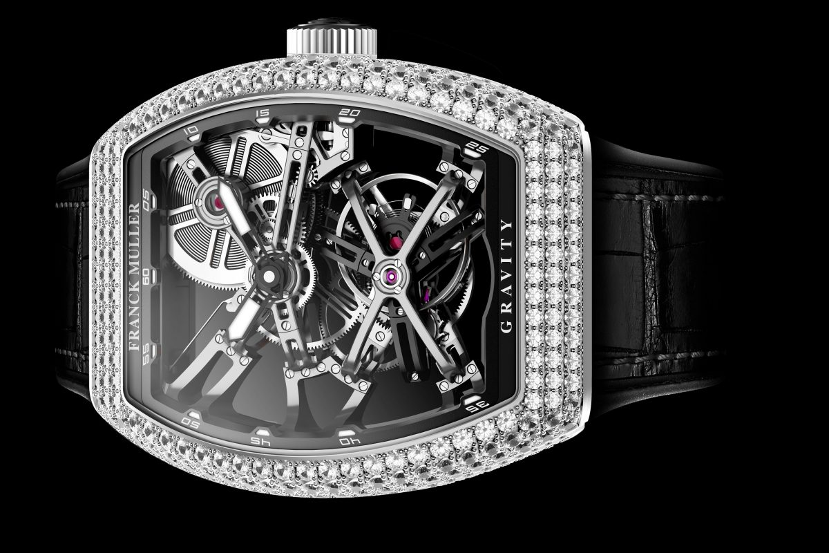 A look at Franck Muller's Vanguard Gravity Skeleton timepiece