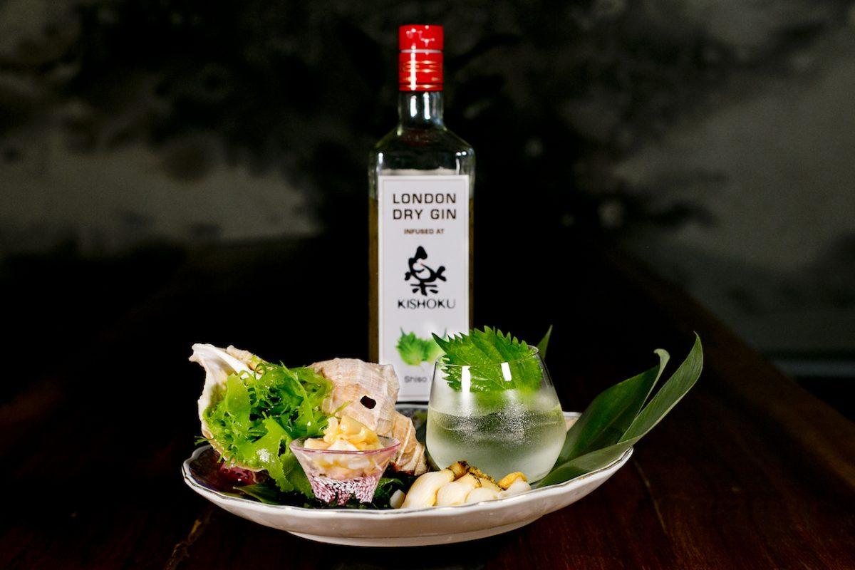 First Look: Gin and Japanese Menu pairing at Kishoku
