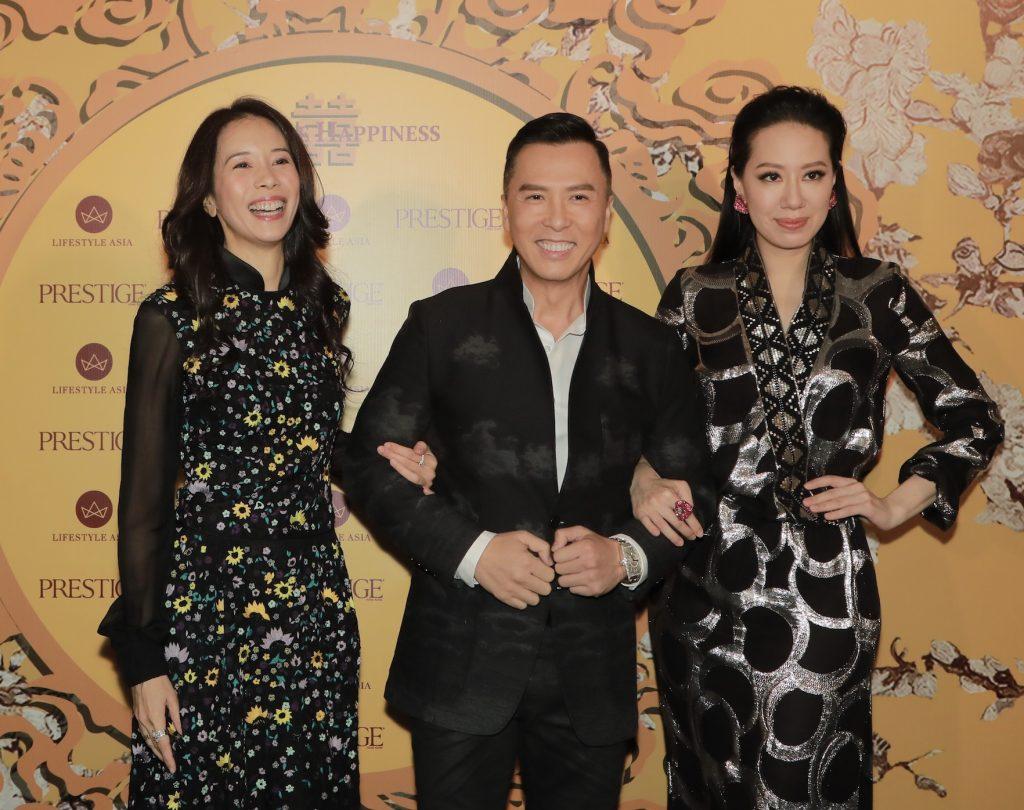 Karen Mok, Donnie Yen, Cissy Wang