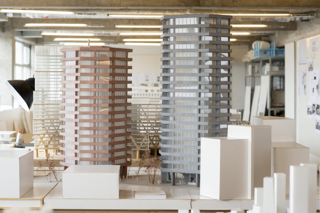 Building models at David Chipperfield's office