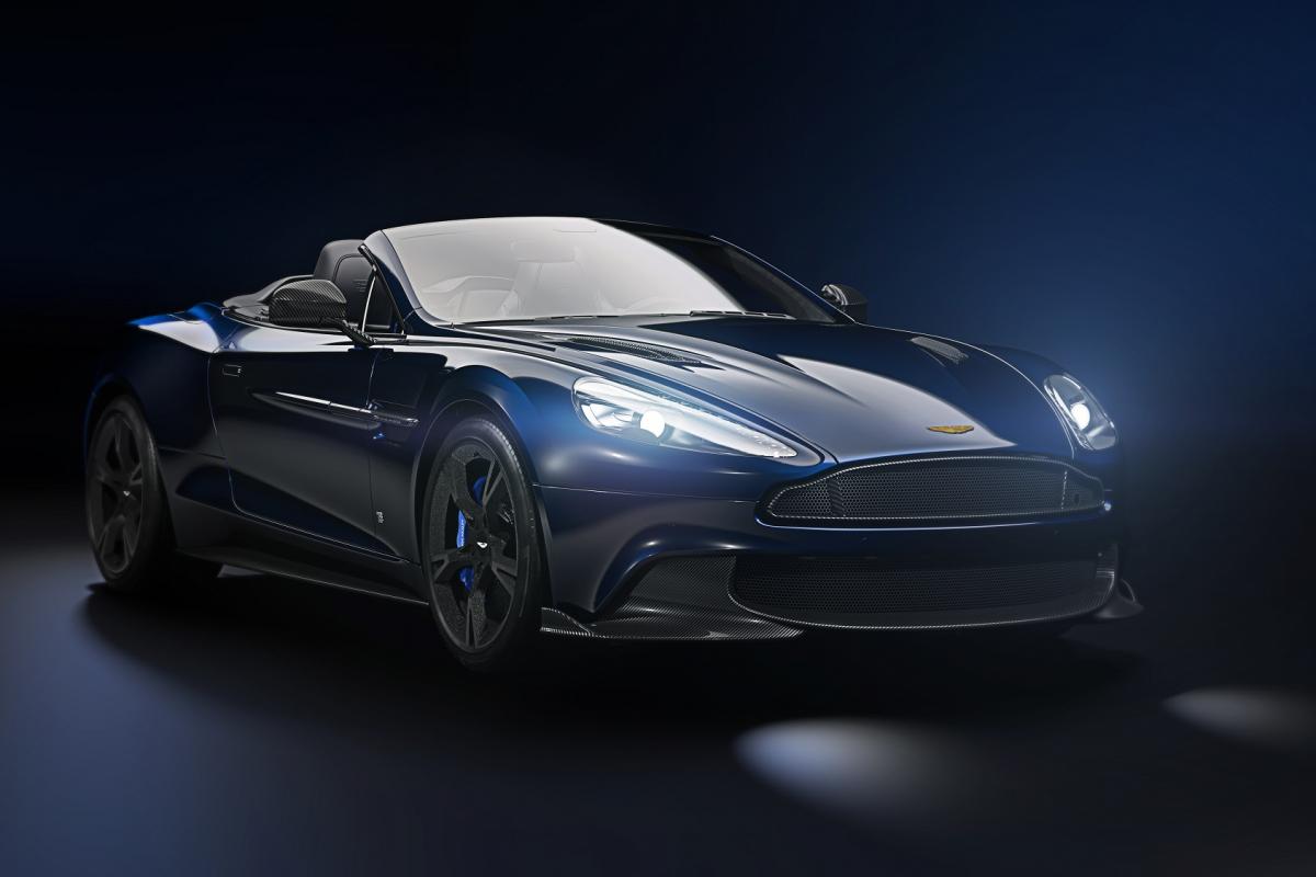 Tom Brady designs a special edition Aston Martin Vanquish S Volante