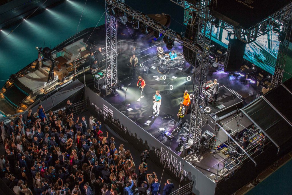 Duran Duran strut their stuff at the Yacht Club de Monaco