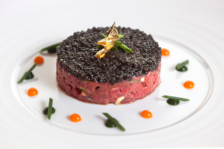 Australian Wagyu Beff and Gillardeau Oyster, Kristal Caviar