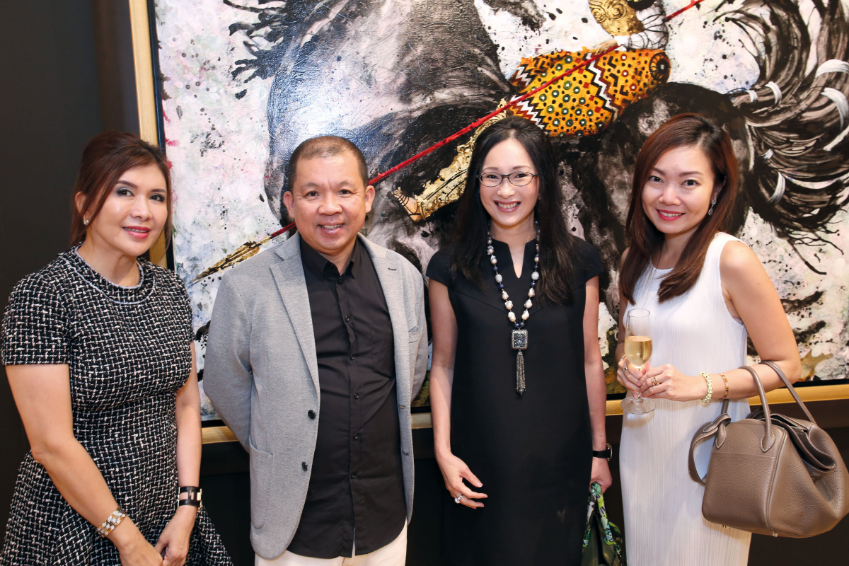 Opera Gallery hosts Prestige readers at new ION Orchard premises