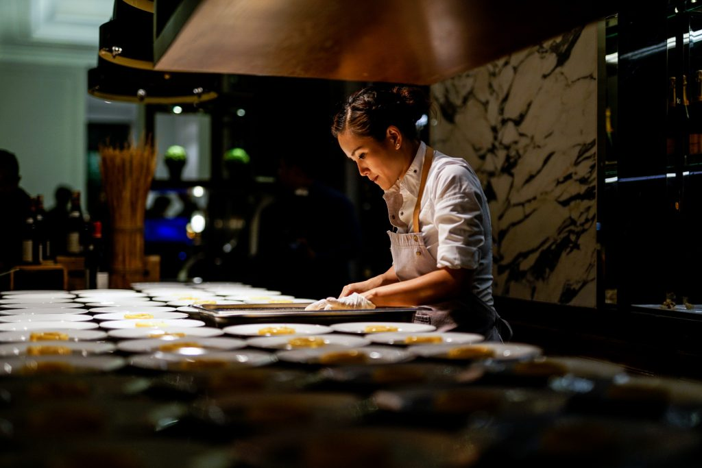Year For Chef Vicky Lau As She Ushers In The Opening Of Her New Patisserie Poem Located Just Below Flagship Restaurant Tate Dining Room And Bar