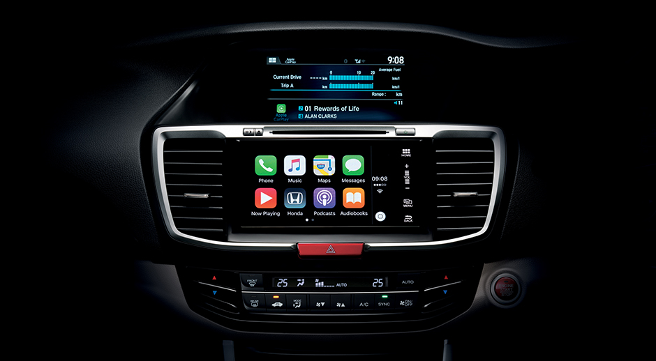 The 7-inch advance Display Audio Touch-screen