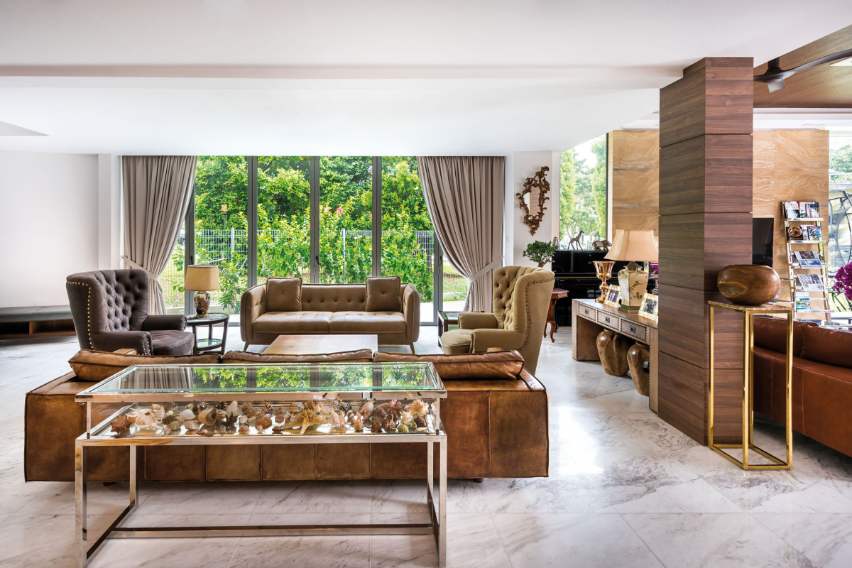 A peek into Fabian and Shanta Chua's beautiful abode