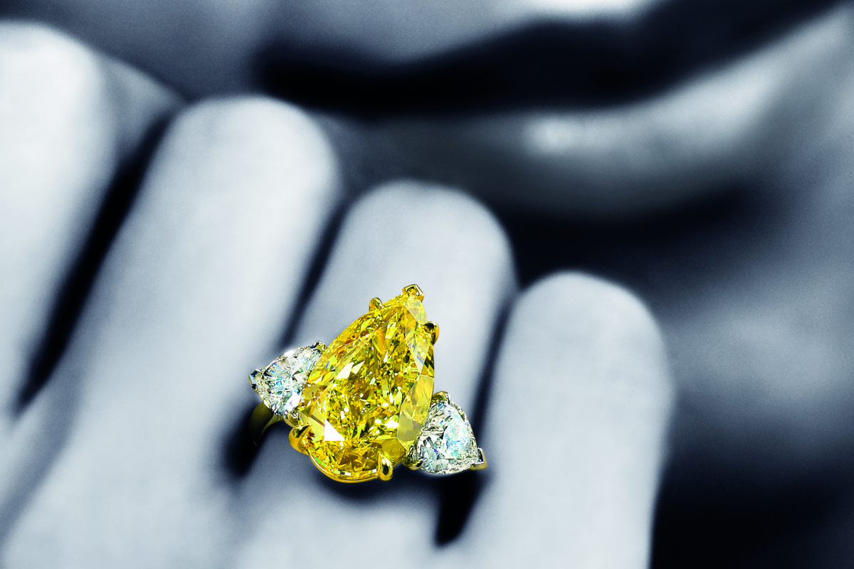 Rare Diamonds Go Up For Auction