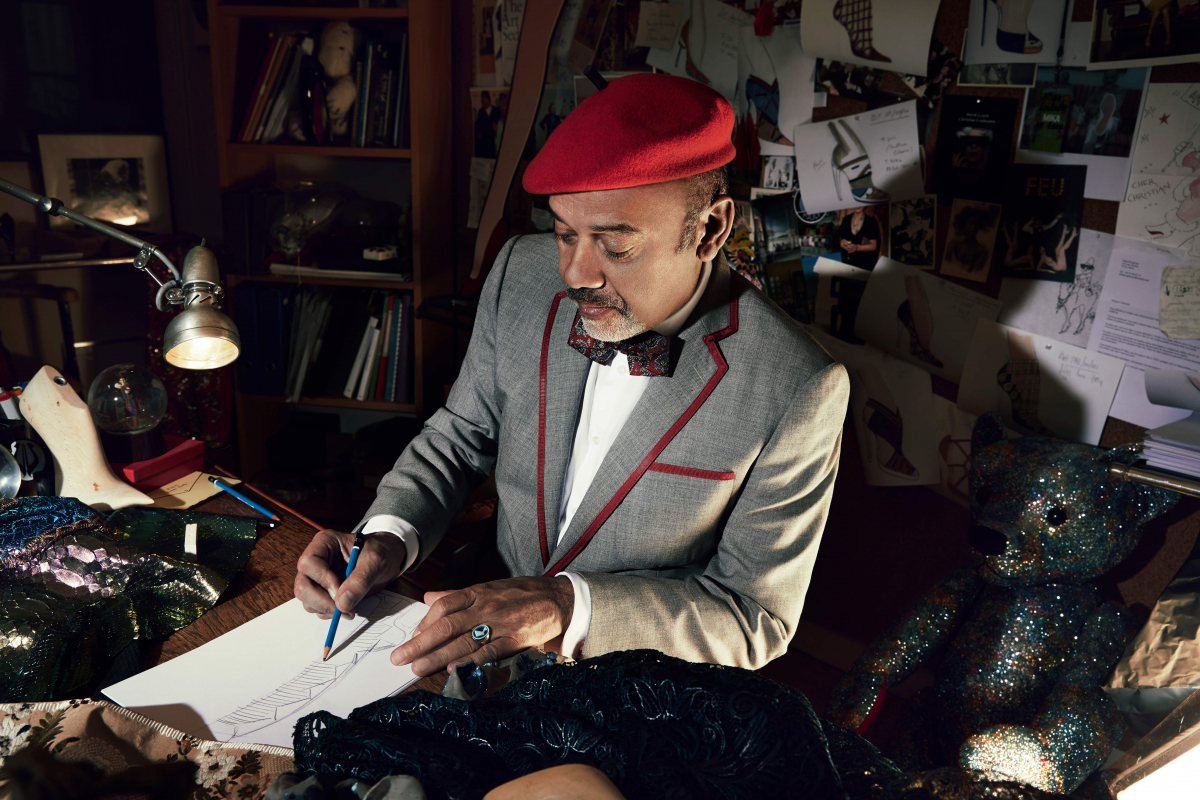 Why Christian Louboutin Decided To Get His Bollywood On