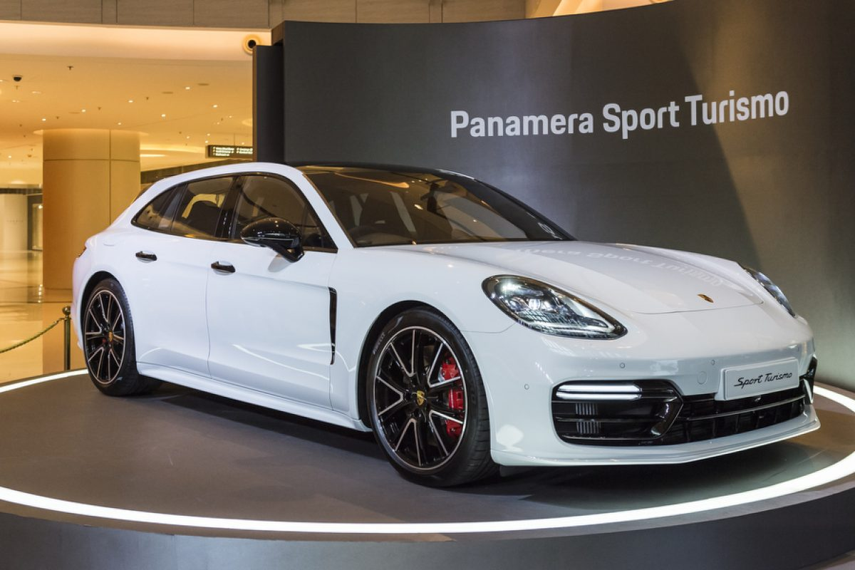 Porsche Panamera Sport Turismo Unveiled at Elements