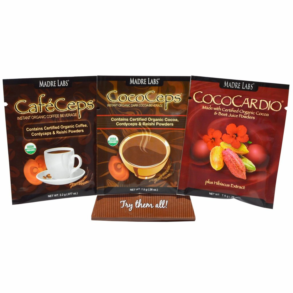 CafeCeps, CocoCeps and CocoCardio at iHerb