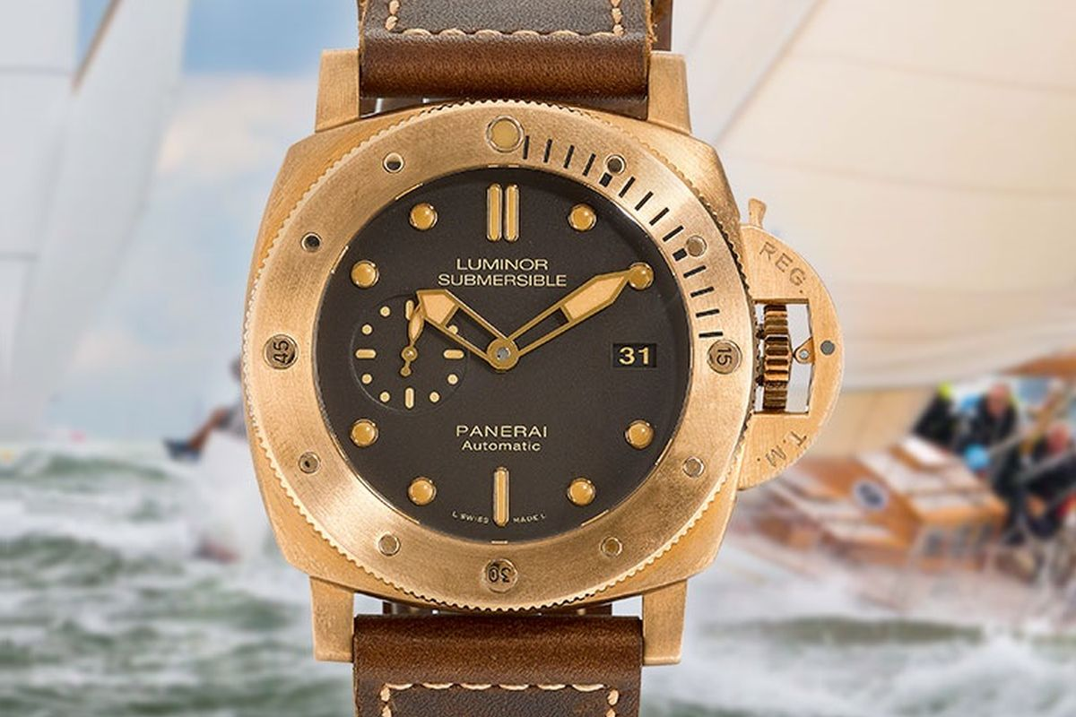 One-of-a-kind bronze Panerai to be auctioned