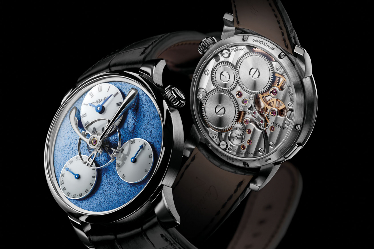 Max Büsser's Legacy Machine split escapement challenges convention
