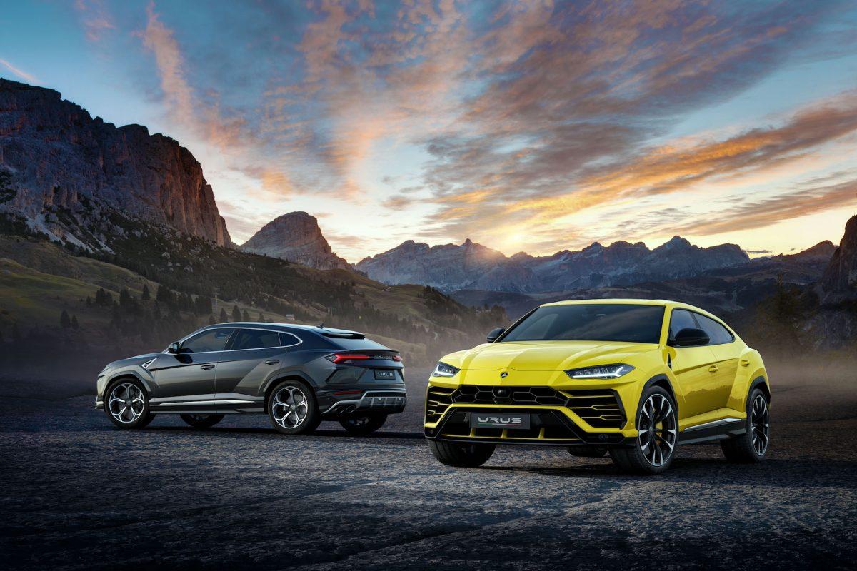 Lamborghini unveils its highly anticipated SUV, the Urus