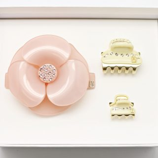 Alexandre de Paris Hair Accessories - Special barrette sets are available as gifts. Made in the company's own factory in Oyonnax (Ain), Alexandre de Paris craftsmen cut the cellulose acetate pattern with a cookie cutter, then mould, sand, polish and set the crystals by hands. The results are high-fashion hair accessories, totally deserving of your tresses.