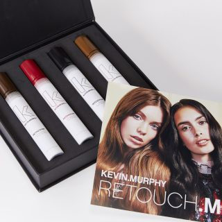 Kevin Murphy Touch-up Hair Spray - Perfect for temporary quick touch-up of your grey hair and to hide unsightly new growth between colour services, these Kevin Murphy Retouch.me sprays come in four shades of black, dark brown, light brown and auburn.