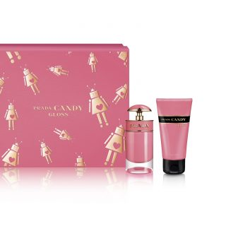 Prada Candy Gloss Set - The Prada Robot first made an appearance on the Prada accessories collection such as bags, rucksacks, purses and keychains. Now the robots are accompanying Prada Parfums, adorning each fragrance coffret to bring an irresistible look to the new holiday season! Check out the many other limited-edition sets available.