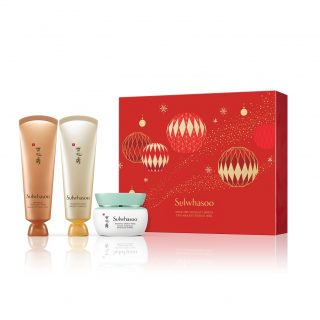 Sulwhasoo Mask Trio Set - One of Korea's top luxury skincare brands, Sulwhasoo has several special coffrets, but we love this set of Radiance Energy Mask, Clarifying Mask and Overnight Mask. All formulated to treat and pamper your tired skin from all that partying.