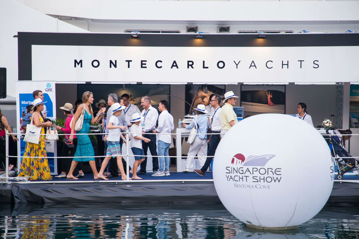 Mark Your Calendar for the Singapore Yacht Show 2018