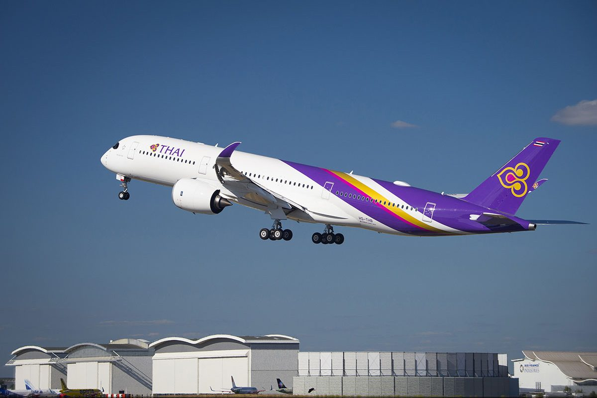 Why Thai Airways' New A350 XWB Helps you Cruise with Comfort