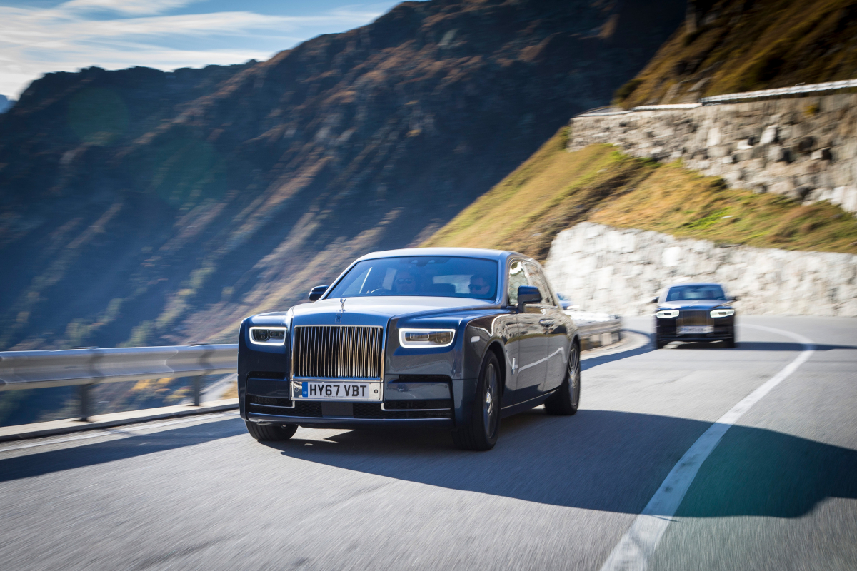 We Take the Rolls Royce Phantom for a Spin