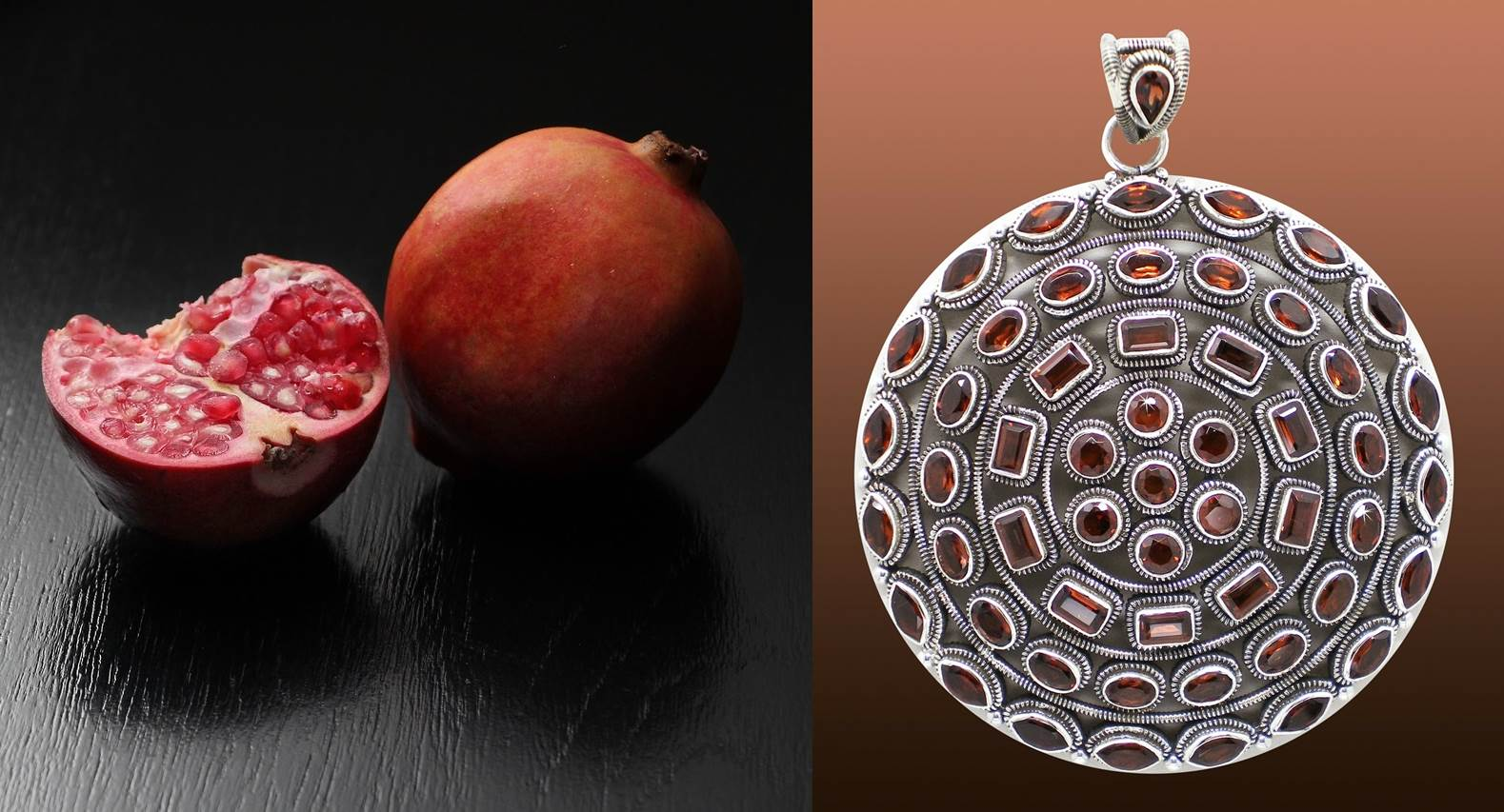 Amazing properties of jewelry with pomegranate, which you did not know