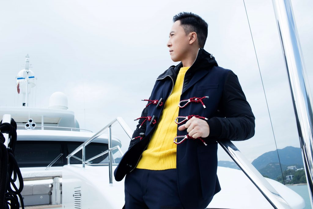 Donnie Yen Prestige Online Cover Shoot - Outfit: Dsquared2