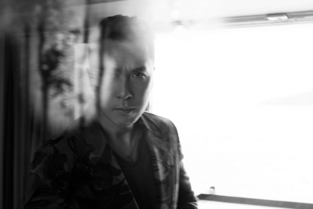 Donnie Yen Prestige Online Cover Shoot - Shirt and jacket: Tom Ford