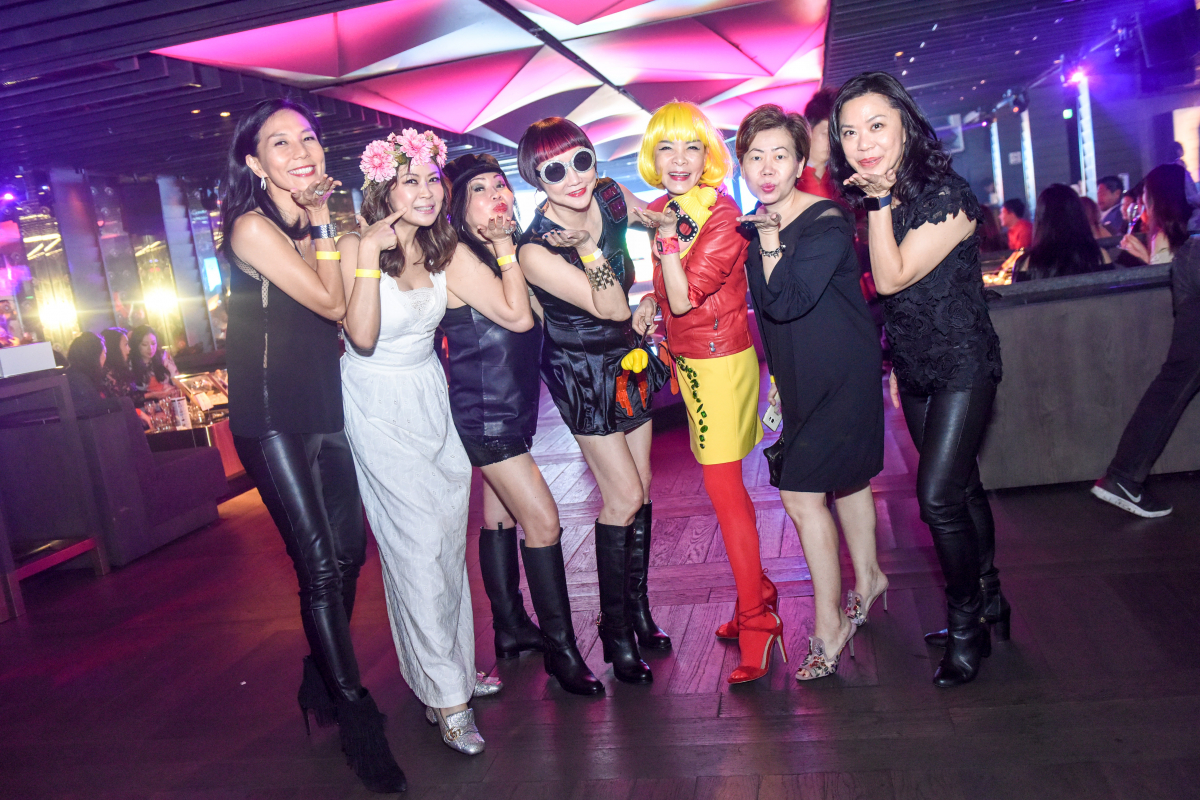 "Legendary pop ""icons"" at our annual Yellow Brick Road charity party"
