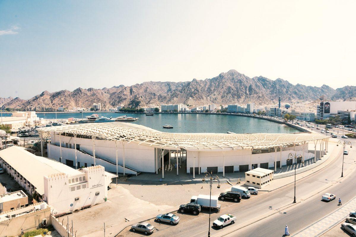 Snøhetta Redesigns Oman's Muttrah Fish Market