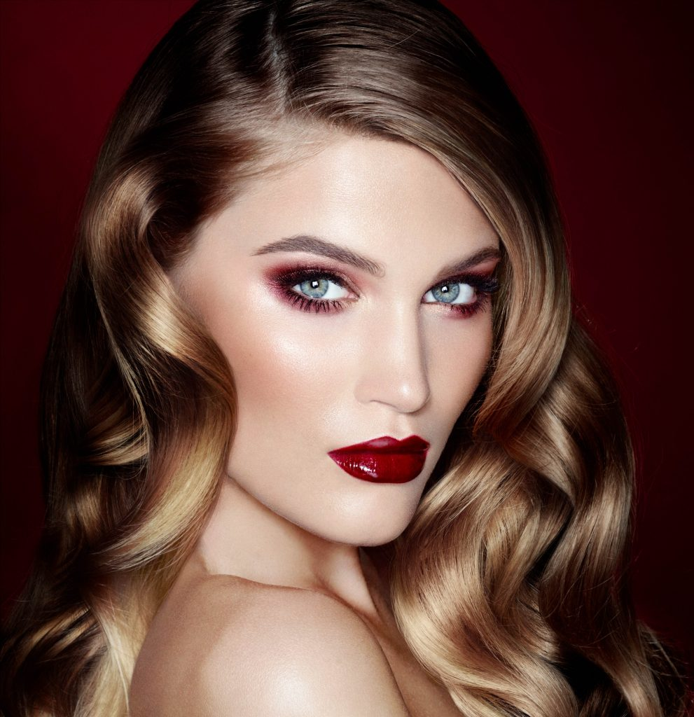 The Vintage Vamp - One of 10 Official Looks in the Charlotte Tilbury Makeup Wardrobe