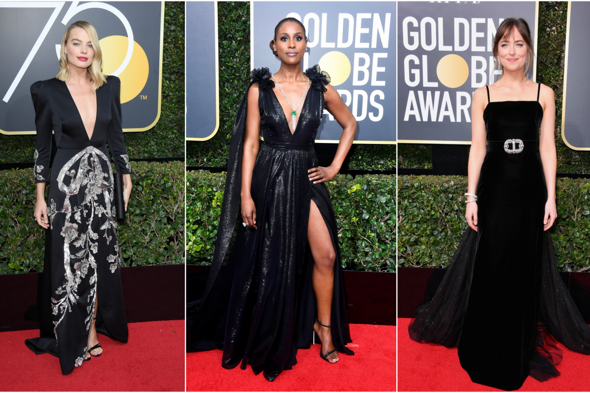 Golden Globes 2018 Red Carpet Report #TimesUp