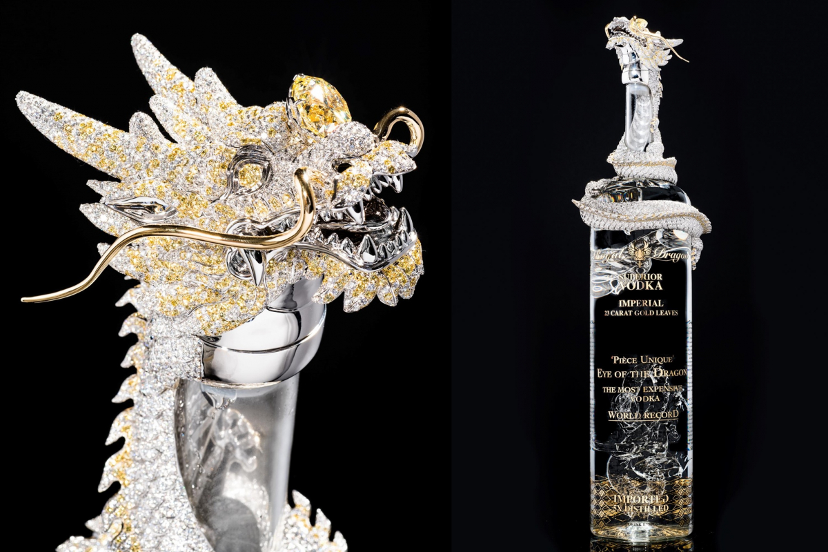 Seems legit: The most expensive vodka in the world