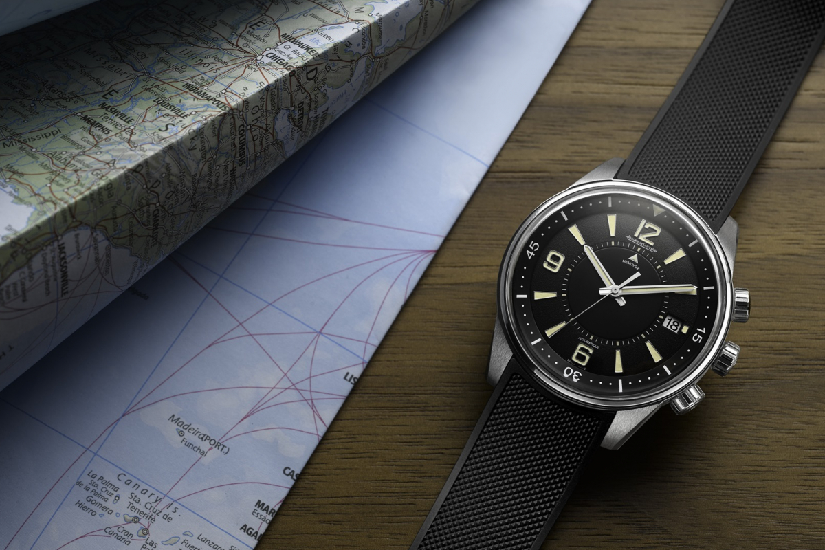 The new Jaeger-LeCoultre Polaris Memovox is now up for grabs online