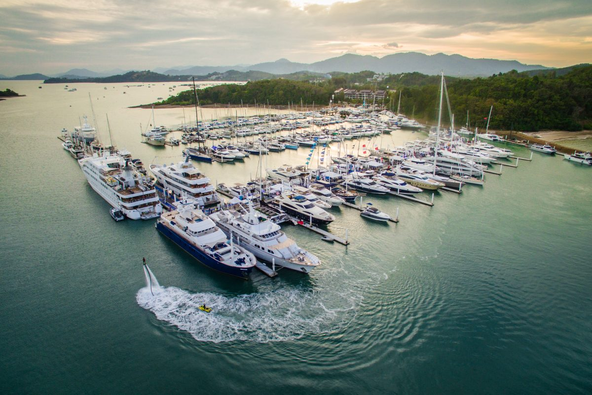 All aboard The Thailand Yacht Show