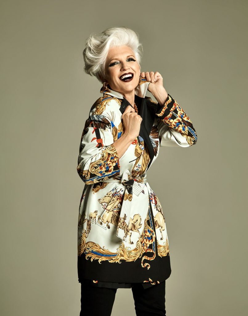 Maye Musk Prestige Hong Kong February 2018 Vintage Issue