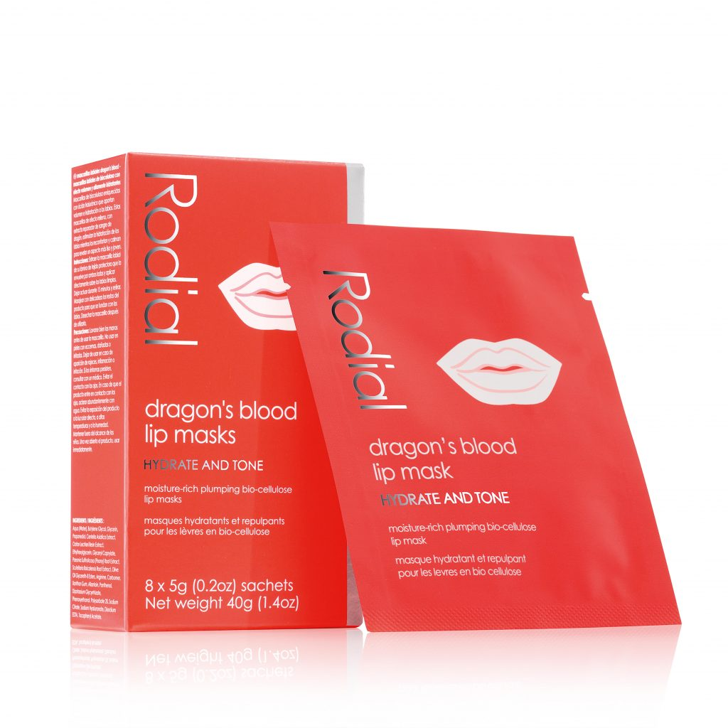 Lip product RODIAL DRAGON'S BLOOD LIP MASKS Prestige Beauty Spa Awards