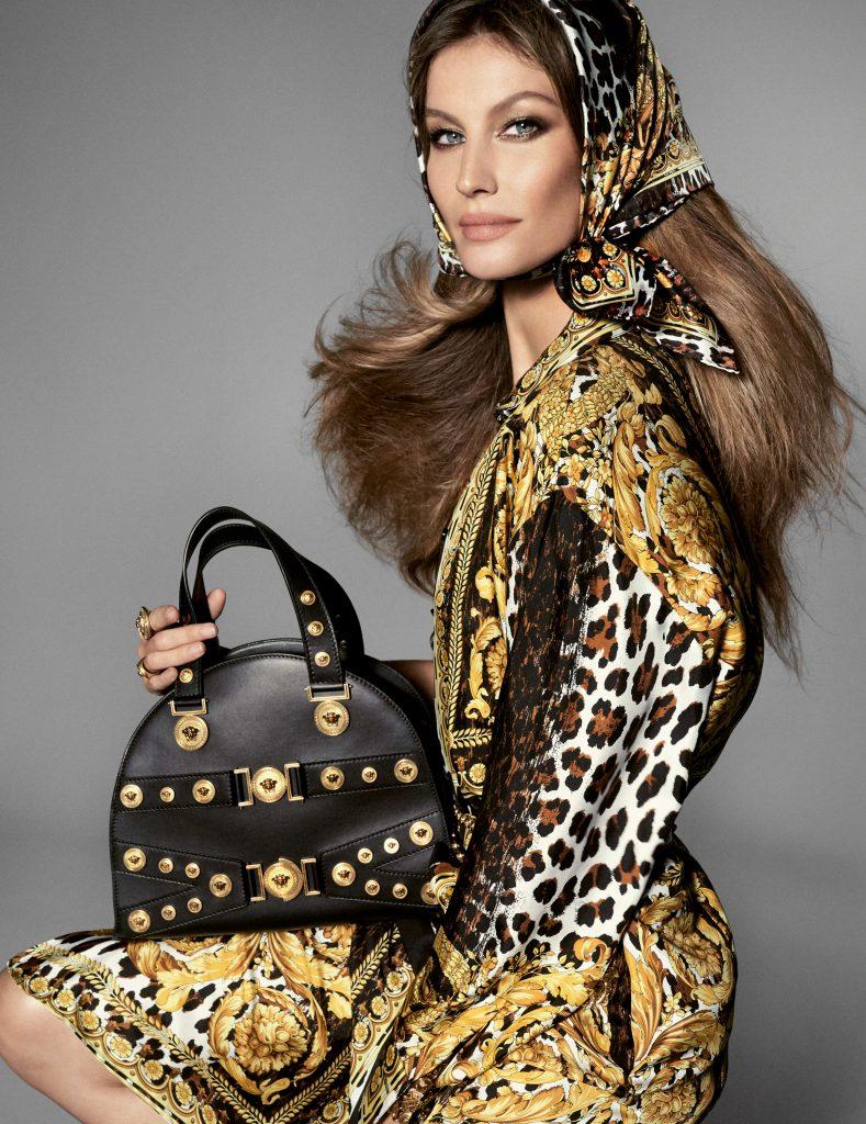 Gisele Bündchen Versace SS18 Tribute Campaign Prestige Fashion