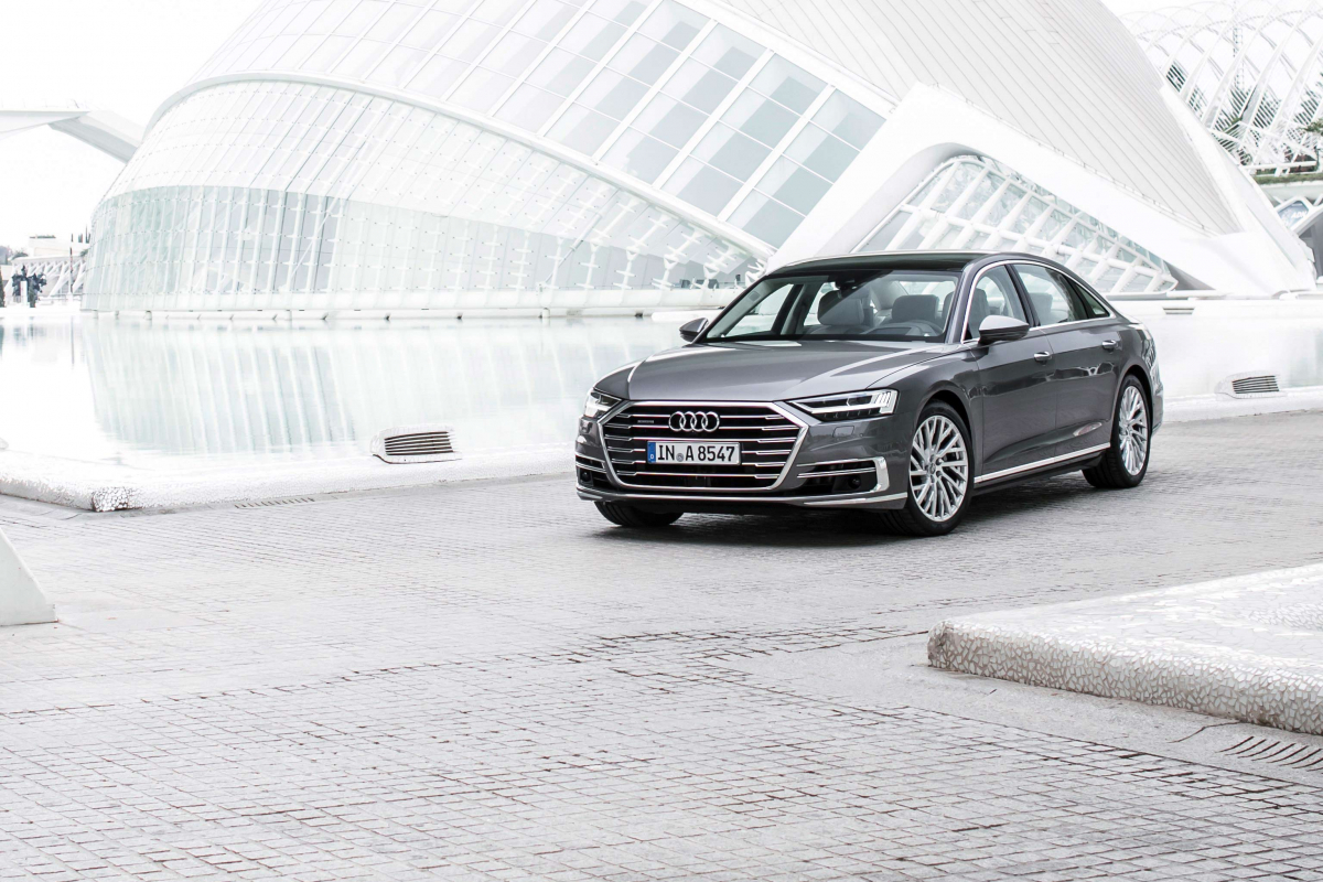 Audi A8: Into the Future